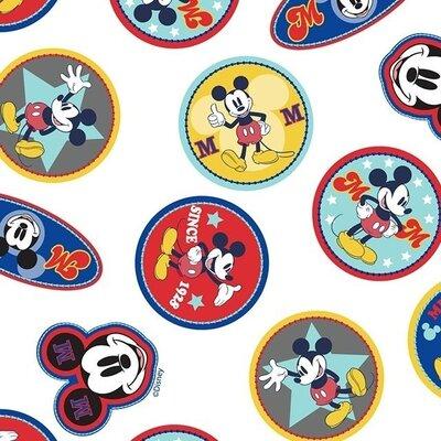 Digital printed cotton - Disney Mickey Mouse Logo