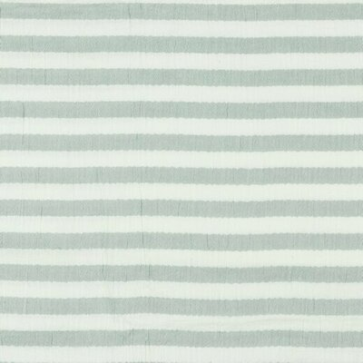 Double Gauze - Stripes Dark Green