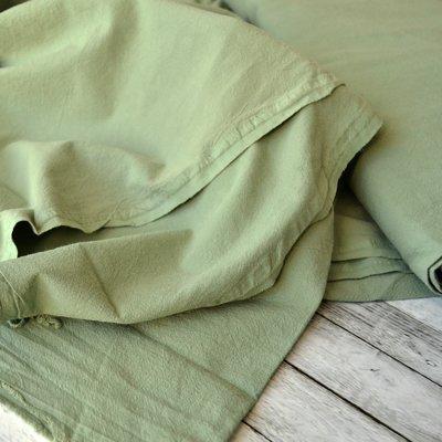 Extrawide Cotton Gauze - Carpatin Olive 2.8