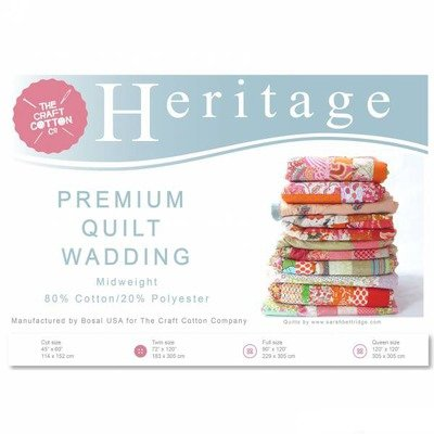 Heritage Poly Cotton Wadding - 183 x 305 cm