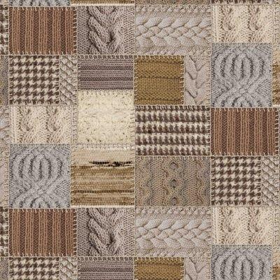 Home Decor digital print - Patchwork Knit