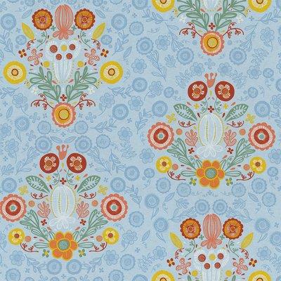 Home Decor Fabric - Folklore Baroc Blue