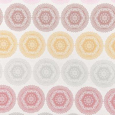 Home Decor - Mandala Ornament Cream