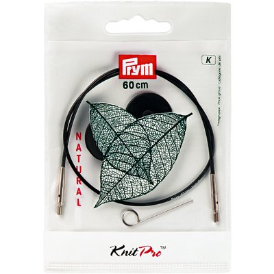 Interchangeable Cord for KnitPro knitting needles - 60 cm