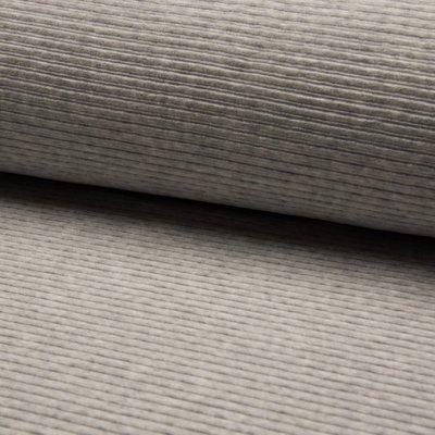 Jersey Corduroy- Light Grey