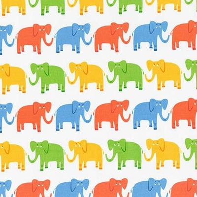 JUNGLE PARTY Elephants Bright