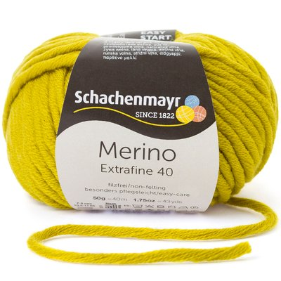 Merino Wool Yarn - Extrafine 40 - Anis 00374