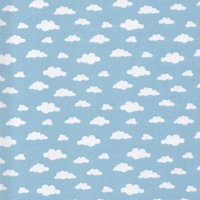Printed Cotton - Ciel Blue