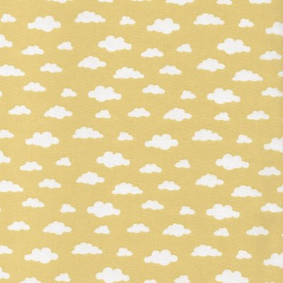 Printed Cotton - Ciel Yellow