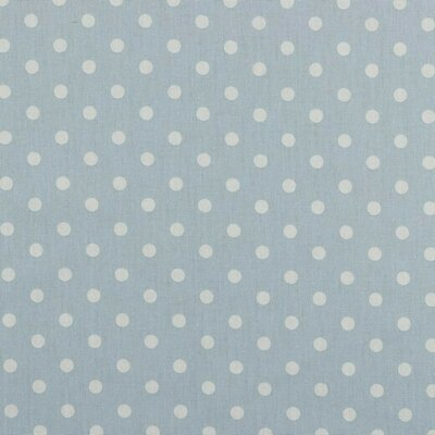 Printed Cotton - Dots Light Blue