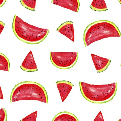 Printed cotton - Watermelons