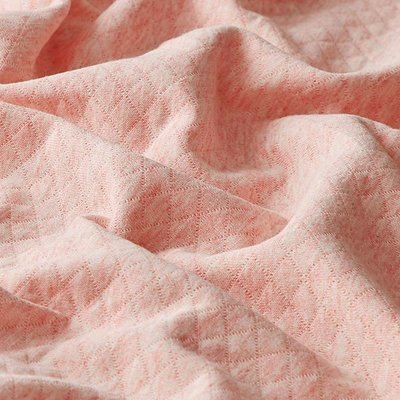 Quilted Cotton  Jersey- Rose Melange
