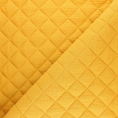 Quilted Double gauze - Ochre