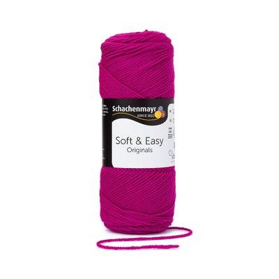 Soft & Easy Yarn - Fuchsia 00031