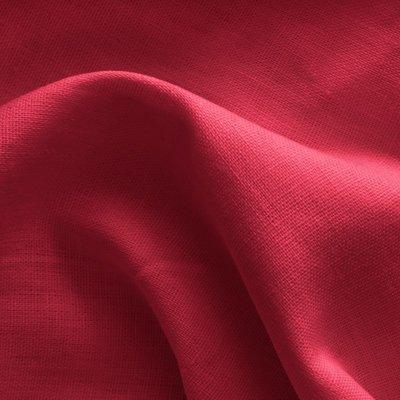 100% Premium Linen - Red