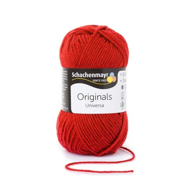 Wool blend yarn Universa - Cherry 00032