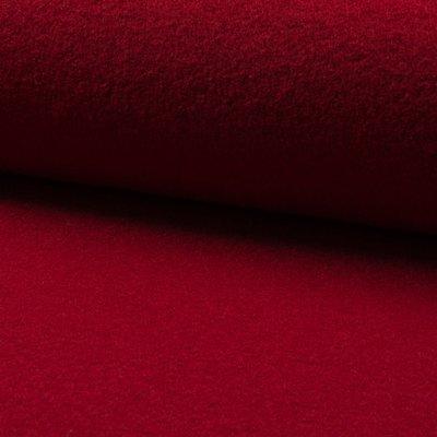 Wool Boiled Dark Red