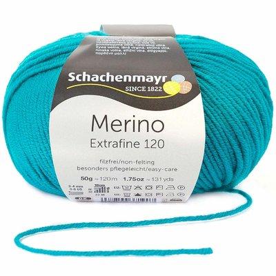 Wool yarn - Merino Extrafine 120 Pine