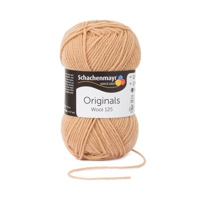 Wool Yarn - Wool125 - Camel 00105