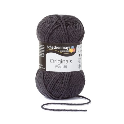 Wool Yarn Wool85 - Antracit 00298