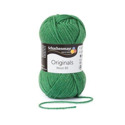 Wool Yarn Wool85 - Leaf Green 00278