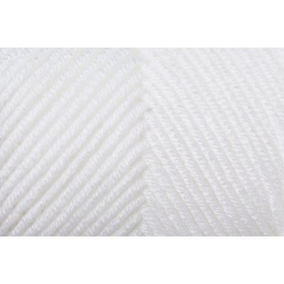 Acryl Yarn Soft & Easy - White- 100g