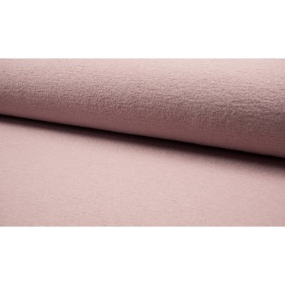Boiled Wool Fabric - Rose