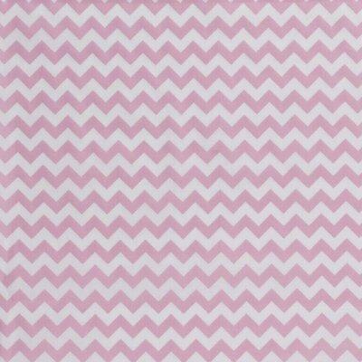 Bumbac Imprimat - Chevron Pink
