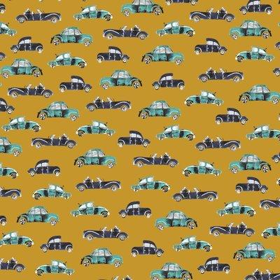 Bumbac imprimat - Cool Cars