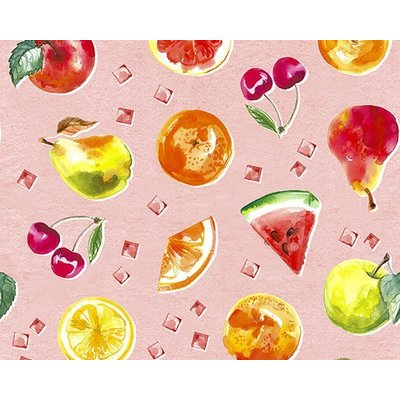Bumbac imprimat digital - Summer Fruits