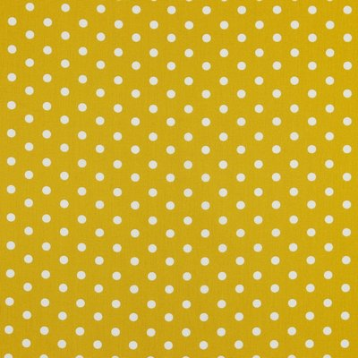 Bumbac imprimat - Dots Ocre