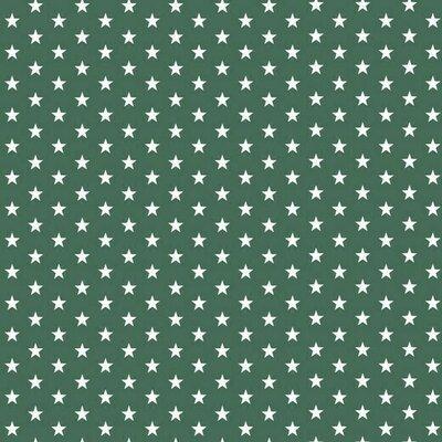 Bumbac imprimat - Petit Stars Dark Green