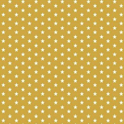 Bumbac imprimat - Petit Stars Ochre