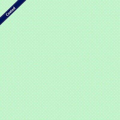 Bumbac peliculizat - Petit Dots Mint