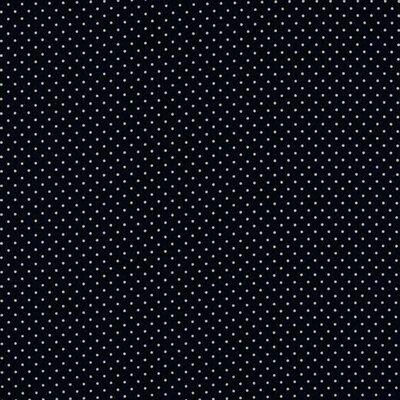 Bumbac peliculizat - Petit Dots Navy