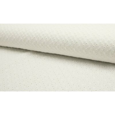 Bumbac subtire cu broderie - Daisy Ivory
