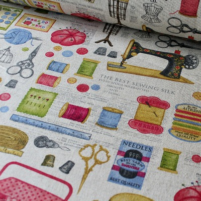Canvas Vintage Sewing Notions