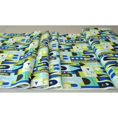 Material designer print - Castle Blocks