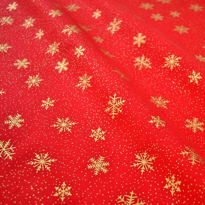 Christmas Snowflakes Red