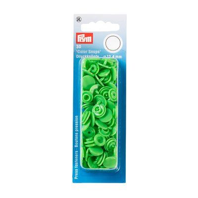 Color Snaps - Green - 30 pcs