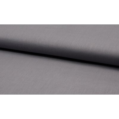 Cotton and linen blend fabric - Grey