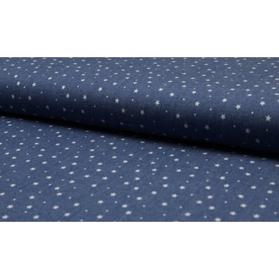 Cotton fabric - Chambray Stars