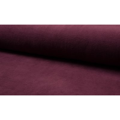 Cotton Fleece - Bordo