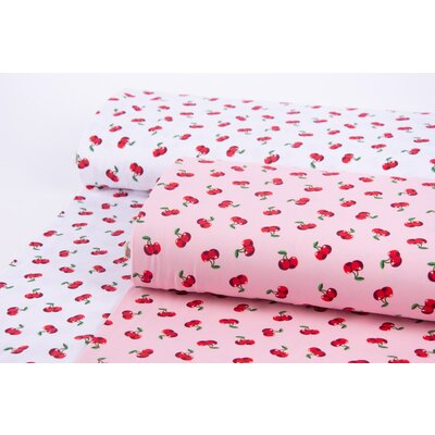 Cotton Jersey - Cherry Pop Pink