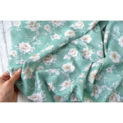 Cotton Lawn - Jolie Aqua