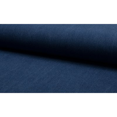 Denim uni 330 gr/mp - Blue Enzyme