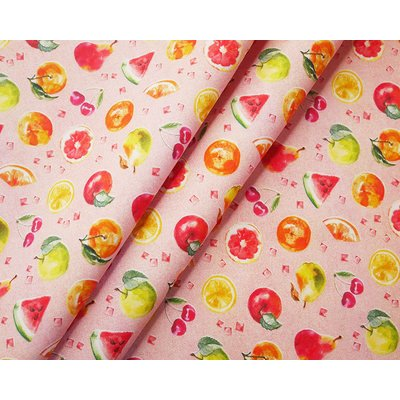 Digital Print Fabric - Summer Fruits