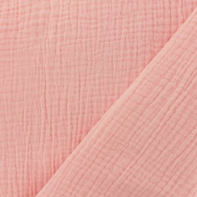 Double Gauze Uni - Rose Blush