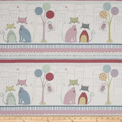Down Town Kitty-Panou Textil 30 cm