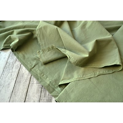 Extrawide Cotton Gauze - Carpatin Olive 2.8